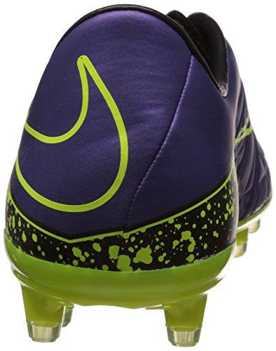 Nike  Hypervenom Phatal II Firm-Ground, Chaussures de Football homme Violet (Lila/Gelb)