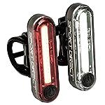 51M5THlH86L. SS150 YHX Luci Bicicletta, Luce per Bicicletta Ricaricabile USB con Clacson,Faro Impermeabile Super Luminoso 250LM e fanale posterioreda Compatibile con Montagna, Strada, Bambini e Biciclette da Città