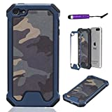 Best Ipod 5 Cases  Girls - Apple iPod Touch 5 6 Case, Hybrid Shockproof Review