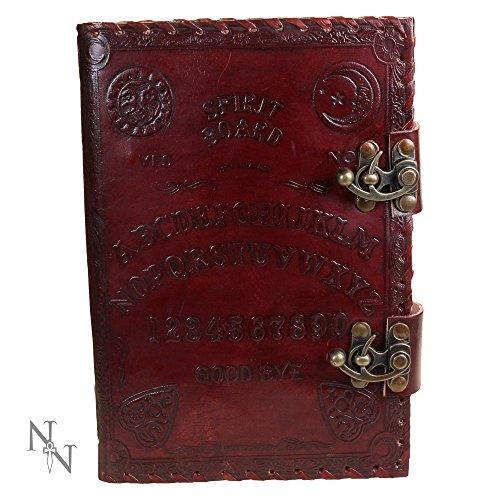 Leder Notizbuch mit Schloss - Spirit Board