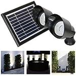 Frostfire projecteurs solaires puissa...