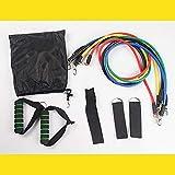 Myzixuan Set 11 pièces Tirez Fitness Corde Formateur Multifonctionnel Corde élastique résistance Ceinture Thoracique