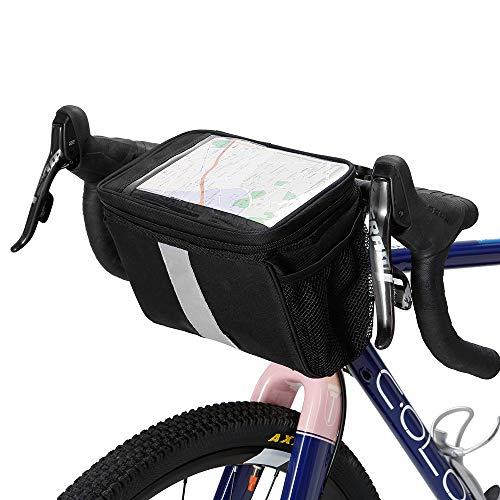 Festnight Fahrradlenkstange Isolierte Kühltasche Radfahren MTB Mountain Road Bike Frontkorb Pannier Bag (Bag Bike Road)