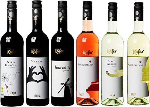 Feinkost Käfer Weinpaket Europa (6 x 0.75 l)
