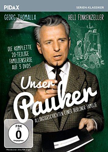 Unser Pauker / Die komplette 20-teilige Kultserie mit Georg Thomalla und Heli Finkenzeller (Pidax Serien-Klassiker) [3 DVDs]
