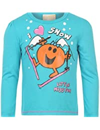 LITTLE MISS FUN LONG SLEEVED T SHIRT AGE 5-6 - NEW