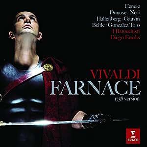 Vivaldi : Farnace (3 CD)