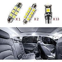 Cobear para X3 2015-2016 Super Brillante Fuente de luz LED Interior Lámpara de Coche