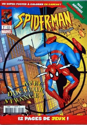 SPIDERMAN MAGAZINE [No 7] du 01/05/2004 - 12 PAGES DE JEUX - TROIS AVENTURES