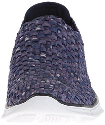 Skechers Equalizer Vivid Dream, Chaussures de sports en salle femme Bleu (Nvw)