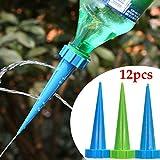 Bluelover Controller di 12pcs giardino irrigazione goccia a goccia in vaso pianta Flowerpot Kit di irrigazione automatica