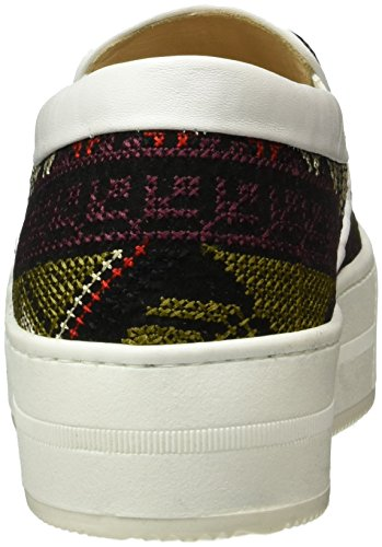 Inconnu 8101.1, Baskets Basses Femme Multicolore - Mehrfarbig (4 multicolour)