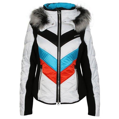 Sportalm Damen Skijacke Rubia Ice weiss Gr. 36