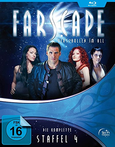 Bild von Farscape - Verschollen im All - Staffel 4 (OmU) [Blu-ray]