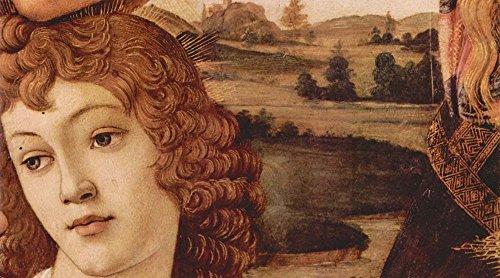 Das Museum Outlet-Madonna die glorreichen Detail 3by Botticelli-Poster (61x 45,7cm) -