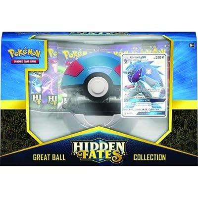 Pokémon POK80480 TCG: Colección de Poke Ball de Fates Ocultos (uno al Azar) por Pokémon