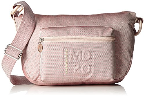 Mandarina Duck - Md20 Minuteria, Borsa a tracolla Donna Pink (Misty Rose)