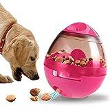 Lakerom Juguete Interactivo del Perro de la alimentación, Bola del alimento de Animal doméstico, Bola de la invitación del índice de Inteligencia-Red
