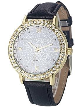 Ouneed® Uhren, Art und Weisefrauen Diamant analoge Quarz Armbanduhr Uhren