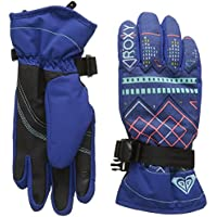 Roxy Jetty Girl Guantes de Snowboard/Esquí, Mujer, Azul (Sodalite Blue Pattern_4), L