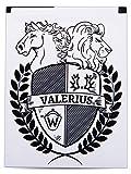 Valerius - Akku für AVM FRITZ!Fon, original 700mAh Kapazität, C4 | C5 | MT-F | M2 | Motorola MOTOFONE | F3 | EM25 | EM325 | M325