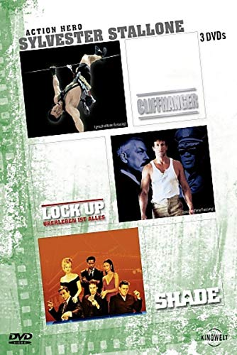 Sylvester Stallone - Action Hero: Cliffhanger / Lock Up / Shade [3 DVDs]