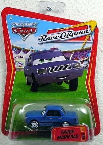 Disney / Pixar CARS Movie 1:55 Die Cast Car Series 4 Race-O-Rama Chuck Manifold by Disney