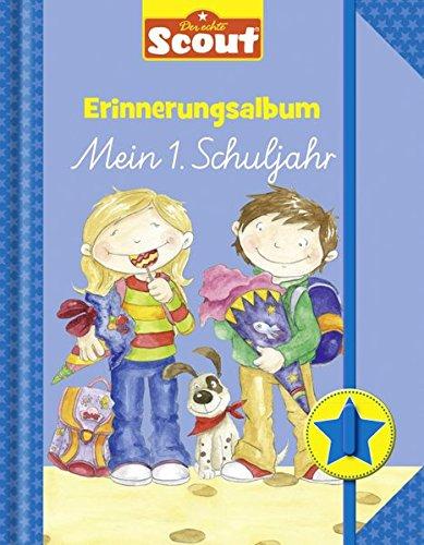 Preisvergleich Produktbild Scout Erinnerungsalbum (blau): Mein 1. Schuljahr