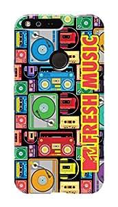 MTV Gone Case Mobile Cover for Google Pixel