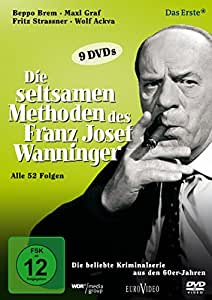 Die seltsamen Methoden des Franz Josef Wanninger, Alle 52 Folgen [9 DVDs]