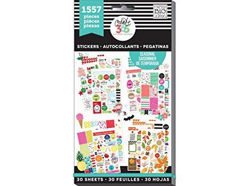 Me & My Big Ideas Seasonal Stickers, Multi-Colour