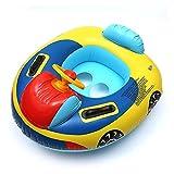 Säuglinge und Kleinkinder mit ausgestelltem verdickte PVC Doppelgriff Platz 0-4 alte Baby aufblasbaren Ring Kinderspielzeug Rad Wasser schwimmen