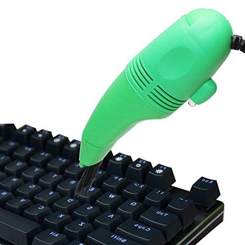 Mini aspiradora/aspiradora, YouGer para PC portátil Teclado de computadora Herramienta limpiadora de Polvo portátil (Color Aleatorio)