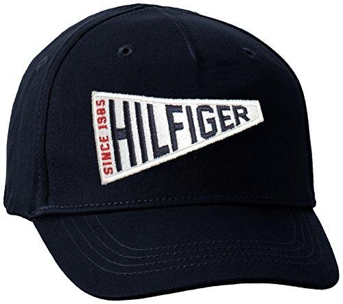 Tommy Hilfiger Jungen Kappe Boys Badge Cap, Blau (Navy Blazer 431), 176 (Herstellergröße: XL)