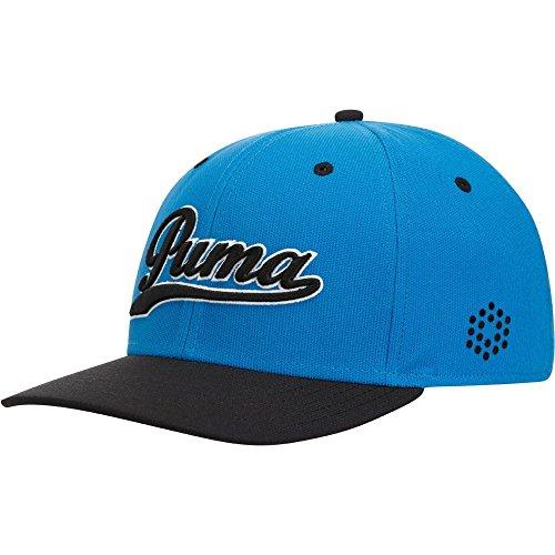 Puma Script Fitted Cap - surf the web-puma black, Größe #:S/M Script Fitted Cap