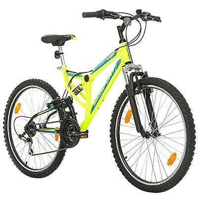 Fahrrad MTB Mountainbike Fully Full Suspension 26 Zoll Bikesport PARALLAX Shimano 18 Gang