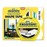 Frog Tape Zick-Zack Klebeband - schnelle Wandgestaltung mit dem patentierten Malerkrepp 46 mm x 22