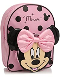 Minnie Mouse Pink and Black Sac à dos with Bow
