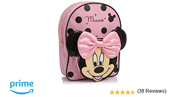 687656410b Disney Minnie Mouse Zaino, Colore Rosa/Nero: Amazon.it: Valigeria