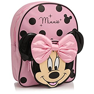 Disney Minnie Mouse – Mochila, Color Rosa y Negro