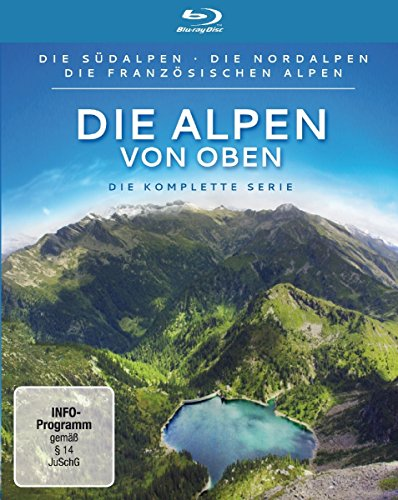 Die Alpen von oben - Die komplette Serie [Blu-ray]