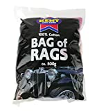 Kent Car Care Cotton Bag of Rags 500g