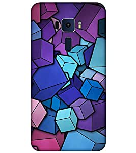 TAKKLOO Designer Back Cover For Asus ZenFone 3 ZE552KL