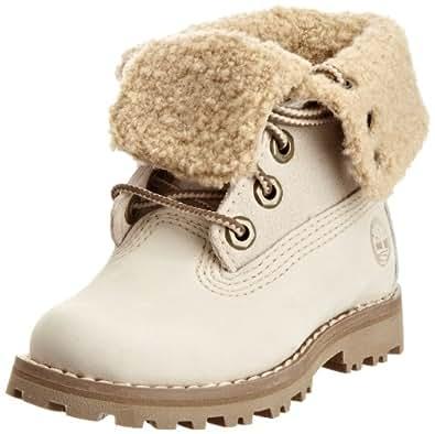 Timberland Shearling 21826  Unisex - Kinder Warmfutter-Stiefel ,Weiß (Off White Nubuck) EU 23.5 ( US 7 )