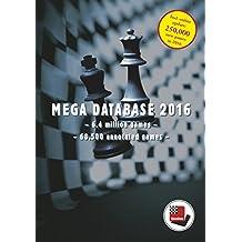 Mega Database 2016: Schachdatenbank mit 6,4 Mio. Partien und 68.500 kommentierten Partien