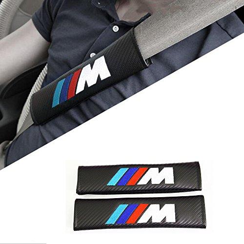 2-x-fourreaux-de-ceinture-m-power-bmw-protege-ceinture-look-carbone