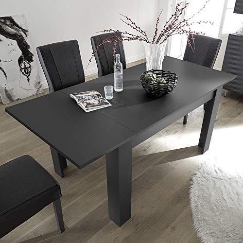 Kasalinea - Mesa Extensible 140 cm, diseño Gris Verona 2: Amazon ...