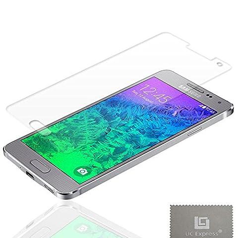2x Schutzfolie f Samsung Galaxy Alpha G850 Klar Displayschutzfolie Displayschutz