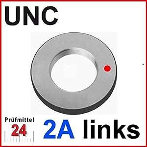 Gewinde Ausschusslehrring UNC Nr. 8 -32 LH Amerikanisches Grobgewinde ANSI B1.1 links 2A, Gewicht: 0.33