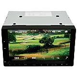 Swiftswan 7-Zoll-Bildschirm Auto Stereo MP4 Player Bluetooth Freisprecheinrichtung 12V Auto MP5 Audio (Farbe: Grau & Schwarz)